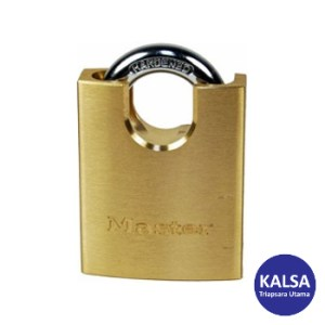 Master Lock 2250EURD Solid Brass Padlock Hardened Steel Shackle