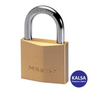 Master Lock 2950EURD Solid Brass Padlock Hardened Steel Shackle