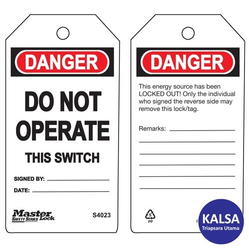 distributor master lock S4023