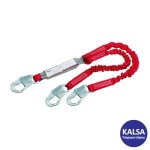 Protecta Pro 1342101 Elastic 100% Tie Off Shock Absorbing Lanyard