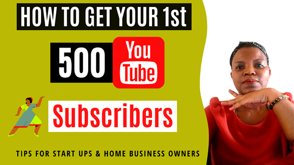How to Get Your First 500 YouTube Subscribers - feature