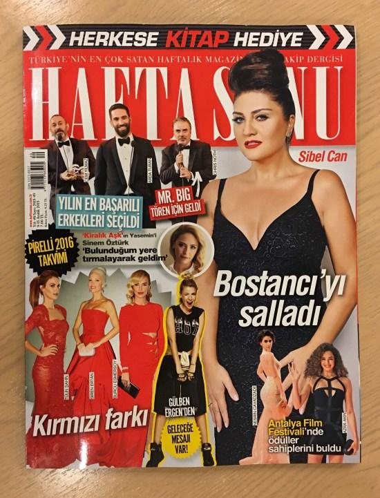 HAFTA SONU DERGİ - 01