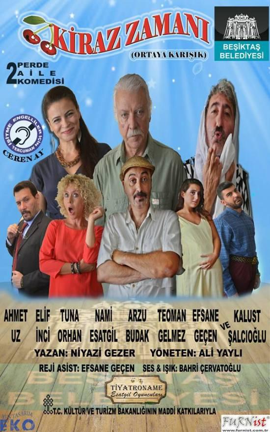 Tiyatro - 26 Ekim 2015 - Ortaköy Afife Jale Sahnesi