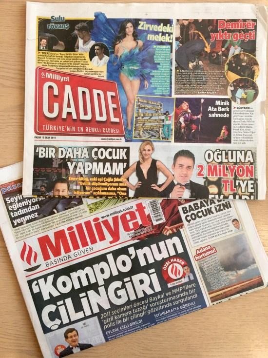 10 Ocak 2016 - Milliyet - 01
