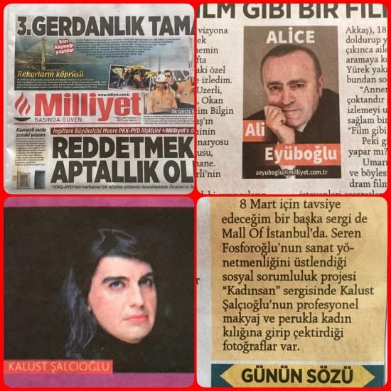 07.03.2016 - Milliyet Ali Eyüboğlu