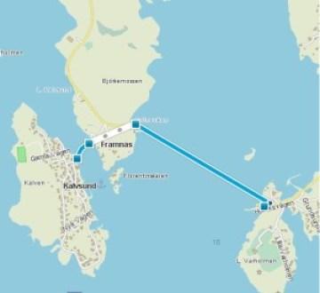 Karta Hitta till Kalvsund