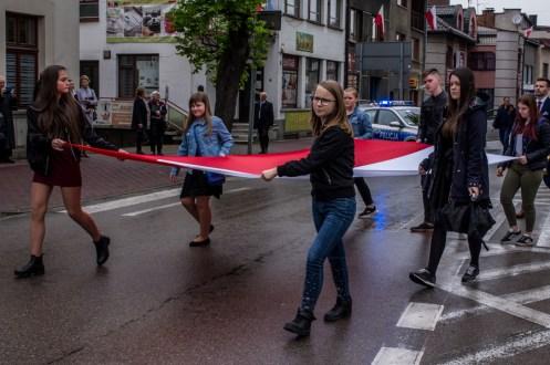 Uroczystości 228. rocznicy uchwalenia Konstytucji 3 Maja w Kalwarii Zebrzydowskiej - 3 maja 2019 r. fot. Andrzej Famielec, Kalwaria 24 IMGP7821