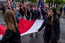 Uroczystości 228. rocznicy uchwalenia Konstytucji 3 Maja w Kalwarii Zebrzydowskiej - 3 maja 2019 r. fot. Andrzej Famielec, Kalwaria 24 IMGP7847