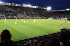 Hiszpania-Włochy półfinał Mistrzostw Europy w piłce nożnej w Krakowie - fot. F. Sarapata