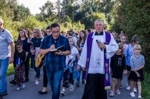 Coroczna Pielgrzymka na Kamionkę pod stary Krzyż Misyjny - Barwałd Dolny - 16.09.2018 r. - fot. Andrzej Famielec IMGP0664