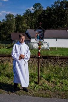 Coroczna Pielgrzymka na Kamionkę pod stary Krzyż Misyjny - Barwałd Dolny - 16.09.2018 r. - fot. Andrzej Famielec IMGP0666