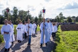 Coroczna Pielgrzymka na Kamionkę pod stary Krzyż Misyjny - Barwałd Dolny - 16.09.2018 r. - fot. Andrzej Famielec IMGP0685