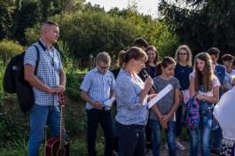 Coroczna Pielgrzymka na Kamionkę pod stary Krzyż Misyjny - Barwałd Dolny - 16.09.2018 r. - fot. Andrzej Famielec IMGP0687