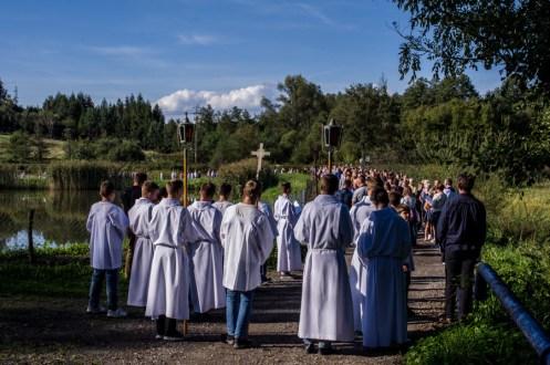 Coroczna Pielgrzymka na Kamionkę pod stary Krzyż Misyjny - Barwałd Dolny - 16.09.2018 r. - fot. Andrzej Famielec IMGP0691