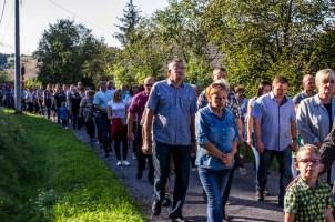 Coroczna Pielgrzymka na Kamionkę pod stary Krzyż Misyjny - Barwałd Dolny - 16.09.2018 r. - fot. Andrzej Famielec IMGP0702