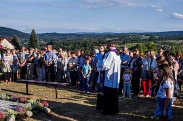 Coroczna Pielgrzymka na Kamionkę pod stary Krzyż Misyjny - Barwałd Dolny - 16.09.2018 r. - fot. Andrzej Famielec IMGP0727