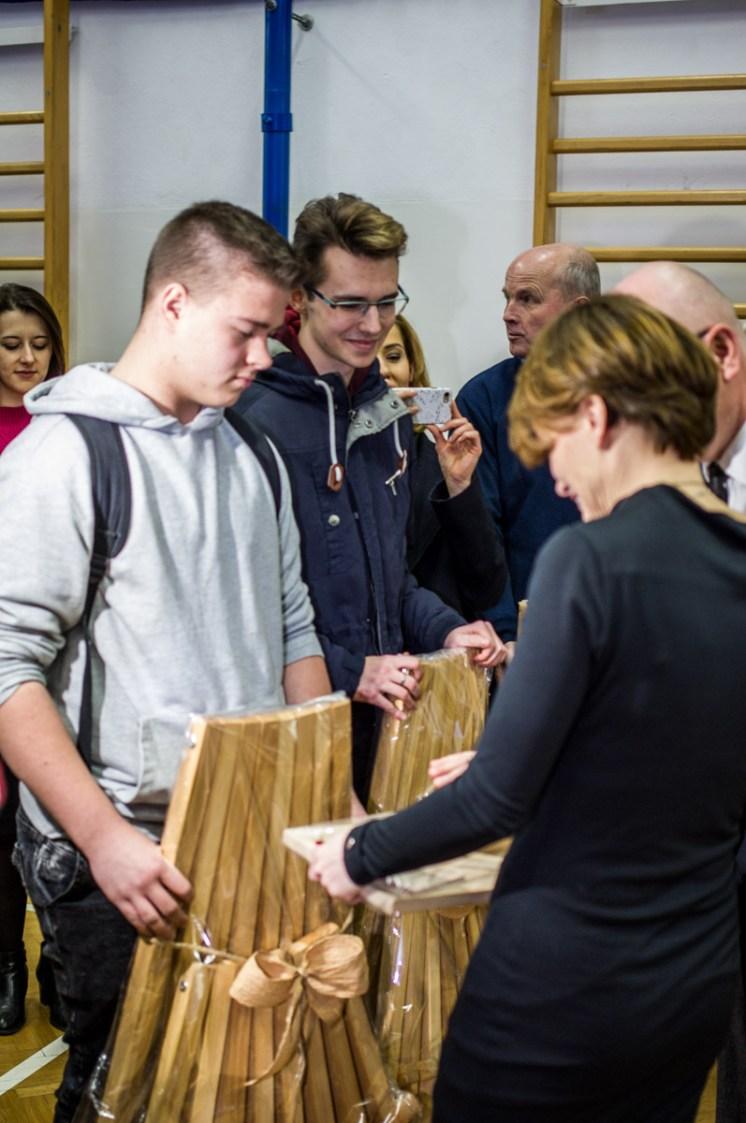 Wizyta Minister Jadwigi Emilewicz w KEN - 21 marca 2019 r. Kalwaria Zebrzydowska - fot. Andrzej Famielec IMGP4523