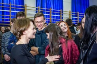 Wizyta Minister Jadwigi Emilewicz w KEN - 21 marca 2019 r. Kalwaria Zebrzydowska - fot. Andrzej Famielec IMGP4525