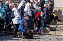 Misterium Męki Pańskiej w Kalwarii Zebrzydowskiej 2019 - Wielka Czwartek - 17 kwietnia 2019 r. fot. Andrzej Famielec, Kalwaria 24 IMGP6352
