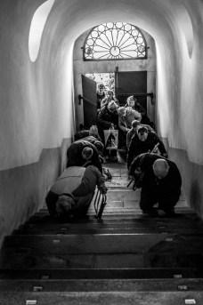 Misterium Męki Pańskiej w Kalwarii Zebrzydowskiej 2019 -Wielki Piątek - 19 kwietnia 2019 r. fot. Andrzej Famielec, Kalwaria 24 IMGP7167