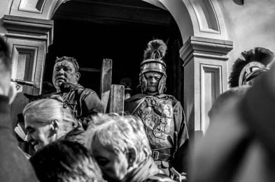 Misterium Męki Pańskiej w Kalwarii Zebrzydowskiej 2019 -Wielki Piątek - 19 kwietnia 2019 r. fot. Andrzej Famielec, Kalwaria 24 IMGP7187
