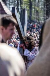 Misterium Męki Pańskiej w Kalwarii Zebrzydowskiej 2019 -Wielki Piątek - 19 kwietnia 2019 r. fot. Andrzej Famielec, Kalwaria 24 IMGP7195