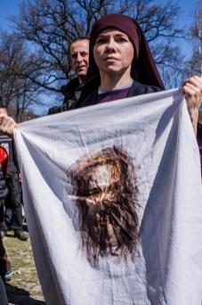 Misterium Męki Pańskiej w Kalwarii Zebrzydowskiej 2019 -Wielki Piątek - 19 kwietnia 2019 r. fot. Andrzej Famielec, Kalwaria 24 IMGP7299