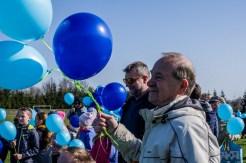 Niebieska Kalwaria - obchody Światowego Dnia Świadomości Autyzmu w Kalwarii - 2 kwietnia 2019 r. Kalwaria Zebrzydowska - fot. Andrzej Famielec IMGP5167
