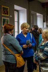 Wernisaż Grażyny Ulman MONADY – 10 maja 2019 r. - Stare Kino - CKSiT Kalwaria Zebrzydowska - fot. Andrzej Famielec, Kalwaria 24