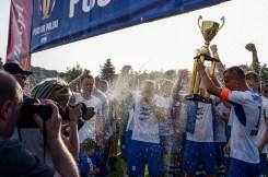Hutnik Kraków zwyciężył 4:0 Orła Ryczów w Pucharze Polski w Małopolsce - 12 czerwca 2019 r. - Kalwaria Zebrzydowska - fot. Andrzej Famielec
