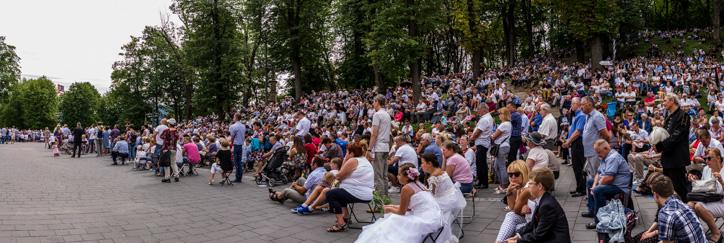 Uroczystości Wniebowzięcia NMP - 18 sierpnia 2019 r. - fot. Andrzej Famielec - Kalwaria 24 IMGP4382-Pano