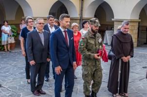 Uroczystości przeddzień 75. rocznicy Powstania Warszawskiego - 31 lipca 2019 r. Kalwaria Zebrzydowska IMGP2246