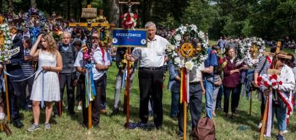 Uroczystości zaśnięcia NMP - Kalwaria Zebrzydowska - 16 sierpnia 2019 r. - fot. Andrzej Famielec - Kalwaria 24 IMGP3107-Pano