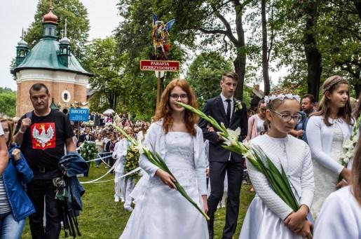 Uroczystości zaśnięcia NMP - Kalwaria Zebrzydowska - 16 sierpnia 2019 r. - fot. Andrzej Famielec - Kalwaria 24 IMGP3394