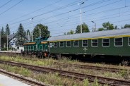 Wizyta pociągu retro w Kalwarii Zebrzydowskiej - 26 sierpnia 2019 r. - fot. Andrzej Famielec - Kalwaria 24 IMGP5148