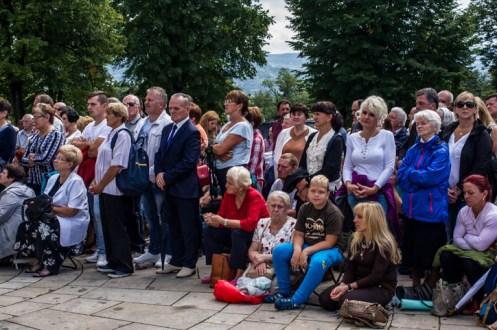 Pielgrzymka Rodzin Archidiecezji Krakowskiej do Sanktuarium Kalwaryjskiego - 8 września 2019 r. - fot. Andrzej Famielec - Kalwaria 24 IMGP6196