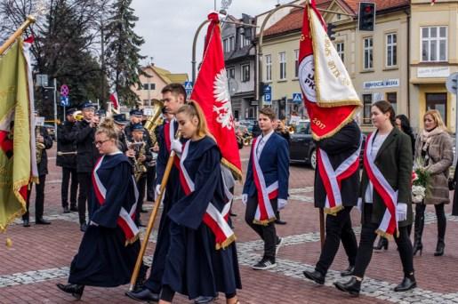 Obchody Święta Niepodległości 11 listopada 2019 r. - fot. Andrzej Famielec - Kalwaria 24 IMGP9864