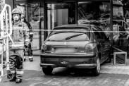 Nieszczęśliwy wypadek obok biedronki - 9 lipca 2020 - fot. Andrzej Famielec - Kalwaria 24 {Filename»}00988-2