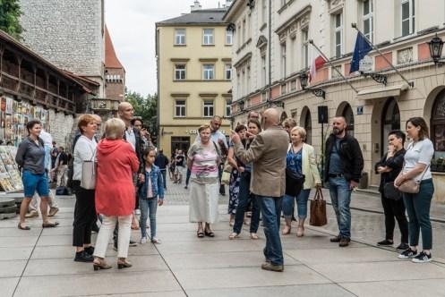 Śladami Mikołaja Zebrzydowskiego w Krakowie - 19 lipca 2020 r. - fot. Andrzej Famielec