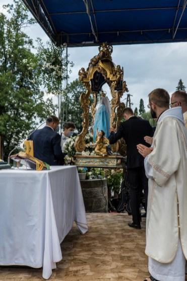 Procesja Wniebowzięcia NMP - 16 sierpnia 2020 r. - fot. Andrzej Famielec - Kalwaria 24-04495