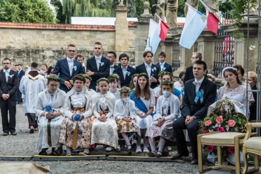 Procesja Wniebowzięcia NMP - 16 sierpnia 2020 r. - fot. Andrzej Famielec - Kalwaria 24-04562