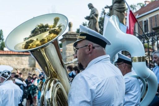 Procesja Wniebowzięcia NMP - 16 sierpnia 2020 r. - fot. Andrzej Famielec - Kalwaria 24-04585
