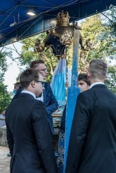 Procesja Wniebowzięcia NMP - 16 sierpnia 2020 r. - fot. Andrzej Famielec - Kalwaria 24-04600
