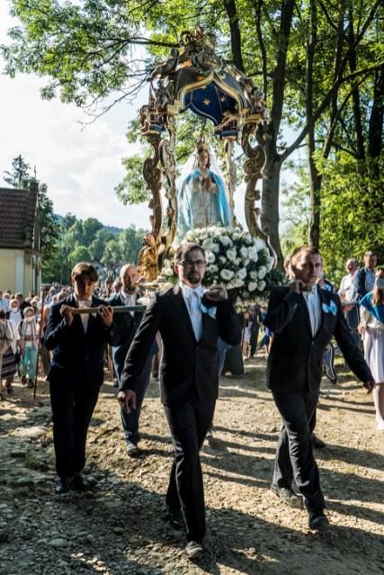 Procesja Wniebowzięcia NMP - 16 sierpnia 2020 r. - fot. Andrzej Famielec - Kalwaria 24-04741