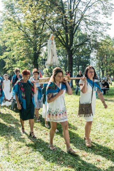 Procesja Wniebowzięcia NMP - 16 sierpnia 2020 r. - fot. Andrzej Famielec - Kalwaria 24-04935