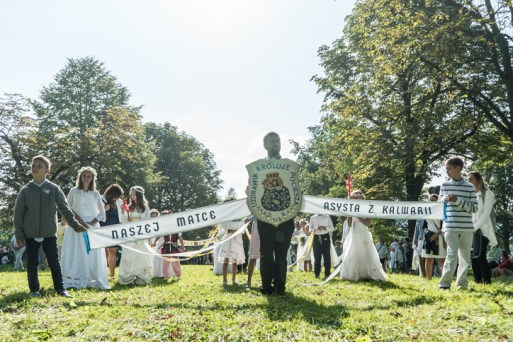 Procesja Wniebowzięcia NMP - 16 sierpnia 2020 r. - fot. Andrzej Famielec - Kalwaria 24-04948