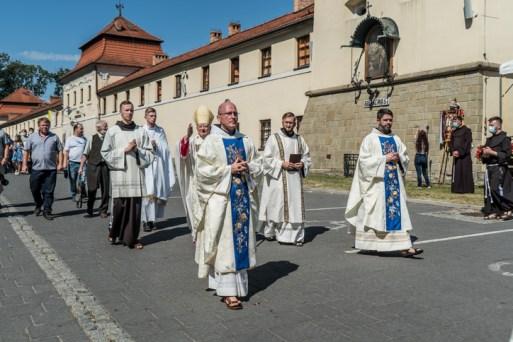 Procesja Wniebowzięcia NMP - 16 sierpnia 2020 r. - fot. Andrzej Famielec - Kalwaria 24-05143