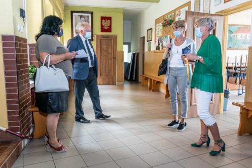 Rekonesans szkół podstawowych - 27 sierpnia 2020 r. - fot. Andrzej Famielec - Kalwaria 24-06024