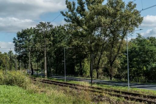 Odbiór nowego oświetlenia LED wdłuż drogi krajowej DK52 - 18 września 2020 r. - fot. Andrzej Famielec - Kalwaria 24-07662