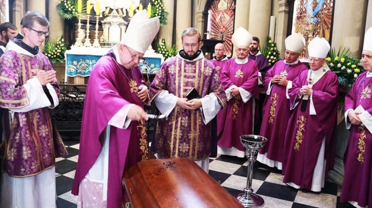 Pogrzeb Kardynała Mariana Jaworskiego - 11 września 2020 r. - fot. O. Salezy Nowak OFM | Biuro Prasowe Sanktuarium